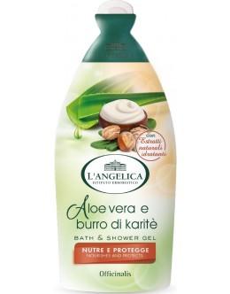 NEW!!! Гель для душа и ванны L'Angelica «Питание и защита» с алоэ вера и маслом Ши