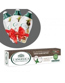 L'ANGELICA Зубна паста «Detox ясен» 75 мл + подарунок!