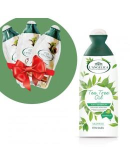 L'ANGELICA Шампунь проти лупи з маслом чайного дерева 250 мл + подарунок!