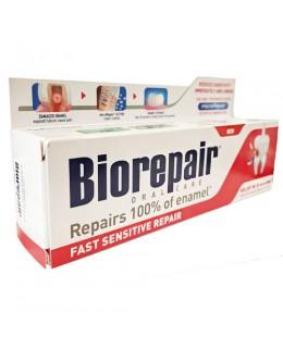 Biorepair Зубна паста «Швидке позбавлення чутливості» 75 мл