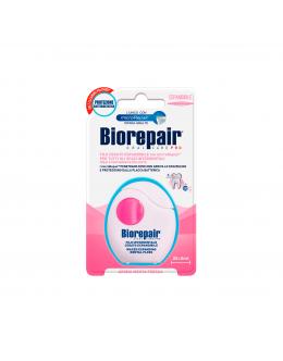 Biorepair Розширююча зубна нитка-флос «Захист ясен» з гідроксиапатитом і гіалуроновою кислотою, 30 м
