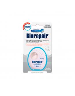 Biorepair Відбілююча зубна нитка-флос з гідроксиапатитом і кополімером PVP, 30 м