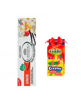 L'ANGELICA Детская зубная паста  «Вкус природы» от 0 до 13 лет + ПОДАРОК
