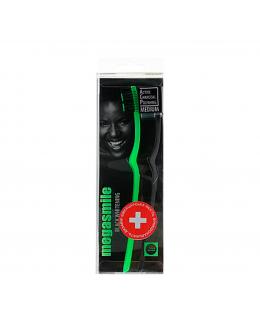 """MEGASMILE  Зубная щетка """"Black Whitening Medium"""" 2 шт"""