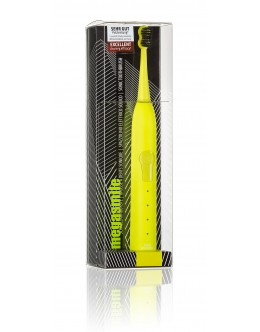 Звуковая гидроактивная зубная щетка «Блэк Вайтенинг ІІ» Электрик еллоу (electric yellow)