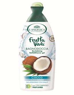 L'ANGELICA Frutta Viva Гель для душа и ванны  «Питательный кокос» 500 мл