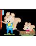 Biorepair Детская зубная паста «Веселый мышонок» от 0 до 6 лет