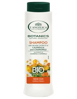 Восстанавливающий шампунь L'Angelica для ослабленных волос