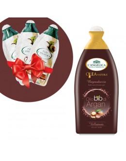 L'ANGELICA Гель для душу й ванни BIO «Арганове масло» 500 мл + подарунок!